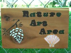 Nature Art Sign